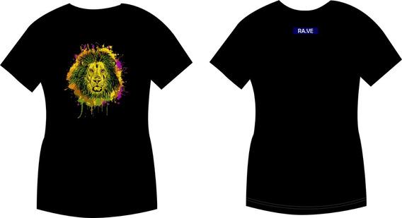 Camiseta Lion Ra.ve Original