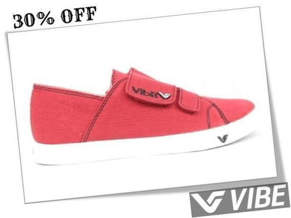 Tenis Vibe Spectra Vermelho Skate Shoes