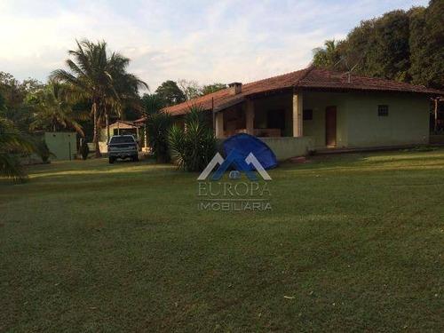 Chácara Com 3 Dormitórios À Venda, 5300 M² Por R$ 620.000,00 - Chácara Jabur - Sertaneja/pr - Ch0129