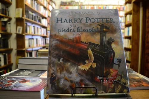 Harry Potter Y La Piedra Filosofal. Ilustrada. J. K Rowling.