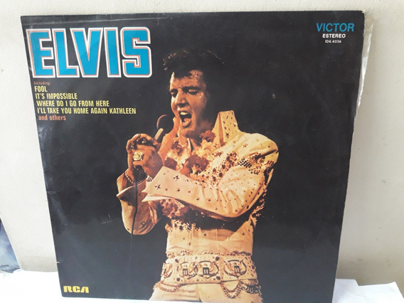 Lp Elvis Presley 1973