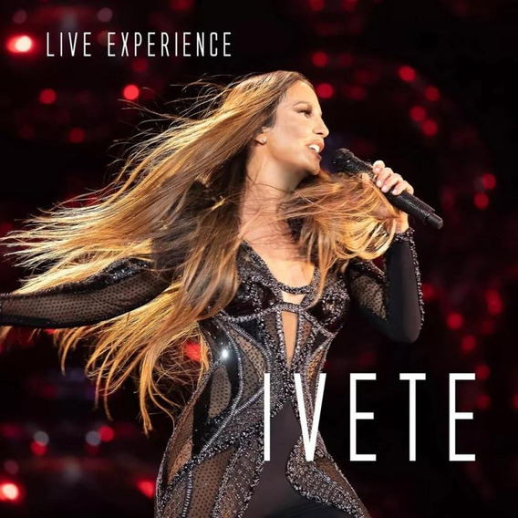 Cd Ivete Sangalo - Live Experience (2 Cds)