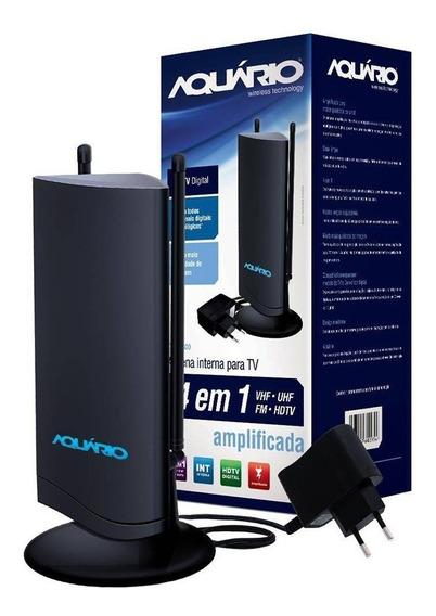 Antena Int. Digital Amplificada Dtv 4600 Aquário Envio Full