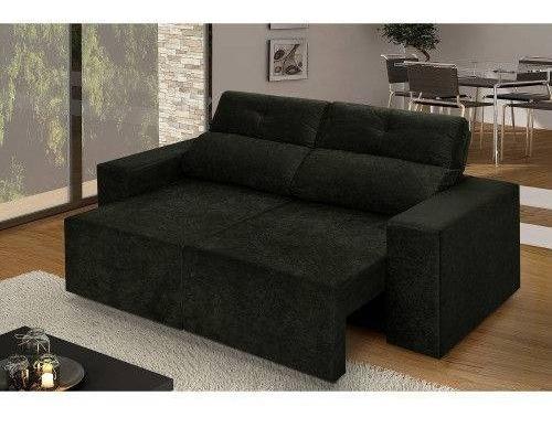Sofa Retrátil E Reclinável 3 Lugares