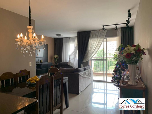 Apartamento 3 Dorms + 1 Vaga - Portal Do Morumbi - Ap0345