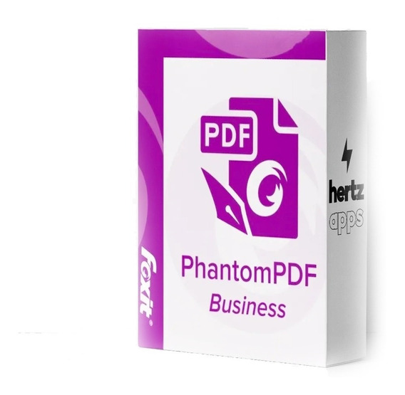 Foxit Phantompdf Business 9 2019 - Envio Online Inmediato!