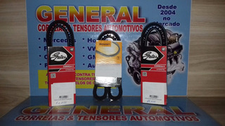Kit Correia Alternador + Ar Cond Pajero Full L200 Triton 3.2