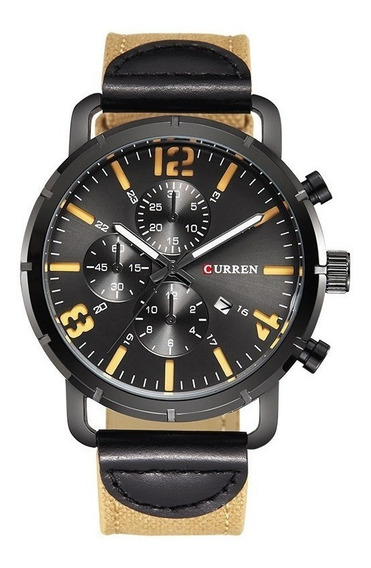 Relógio Curren Original 8194 Luxo Masculino Esportivo