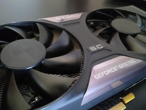 Placa De Vídeo Gtx 760 2gb - Nvidia