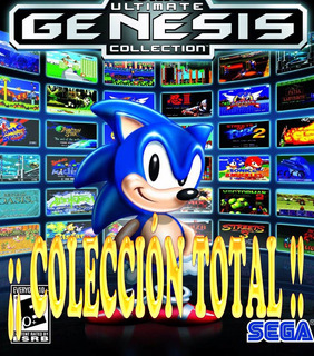 Emulador Sega Pc Colecciòn Total 1.100 Juegos+bios.win7.8.10