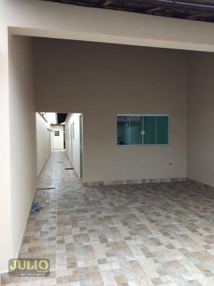 Entrada R$ 53 Mil E Saldo Financiado! Casa Com 2 Dormitórios, 65 M² Por R$ 265.000 - Oceanópolis - Mongaguá/sp - Ca3919
