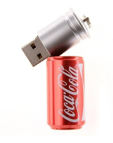 Pen Drive 4gb Personalizado Coca Cola Brindes Eletrônico