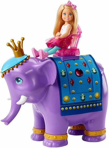 Chelsea E O Rei Elefante Barbie - Mattel Fpl83