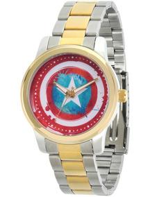 Reloj Marvel Para Hombre Wma000057 Capitán América