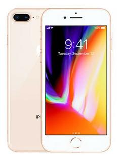 iPhone 8 Plus 64gb Gold Rose Vitrine 100% Original Brindes