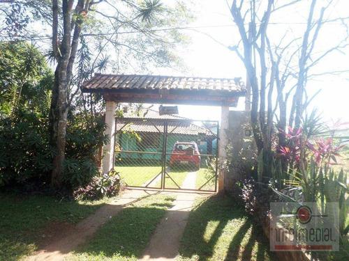 Chácara  Residencial À Venda, Recanto Maravilha Ii, Boituva. - Ch0438