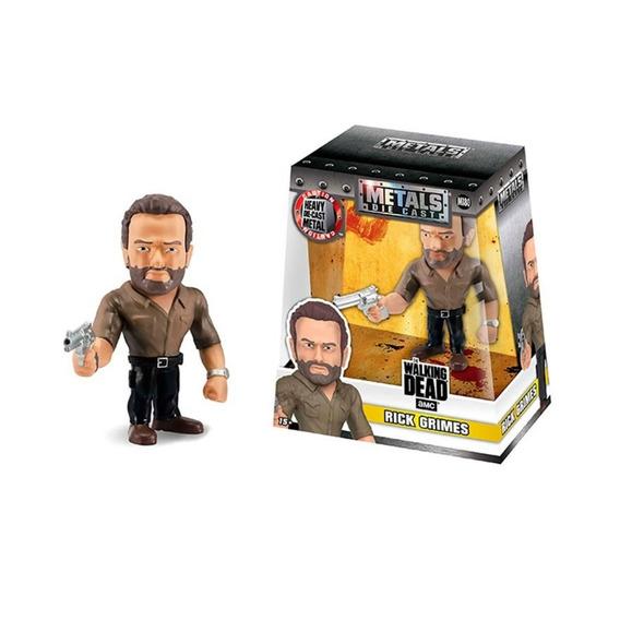 Figura Metals Walking Dead Rick 11 Cm