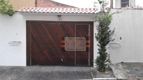 Sobrado Residencial À Venda, Jardim Regina, São Paulo. - So0585
