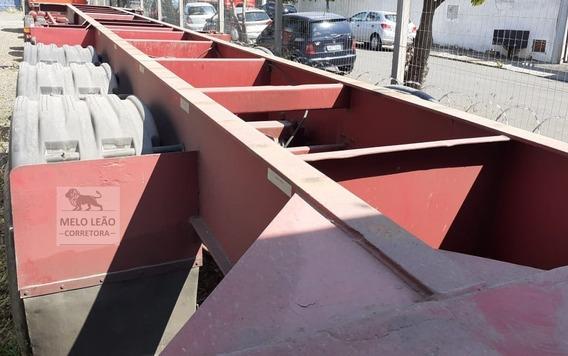 Carreta Fnv Porta Container 3 Eixos - Ano 1989 - Bem Calçada
