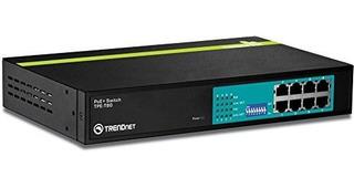 Conmutador Greennet Poe + De 8 Puertos 10 - 100mbps De Trend