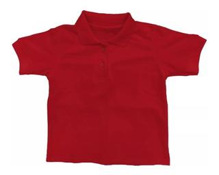 Chemises Escolares Blanca Roja Y Amarilla
