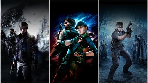 Resident Evil Triple Pack Ps4