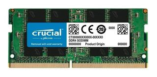 Memoria RAM 8GB 1x8GB Crucial CT8G4SFS8266