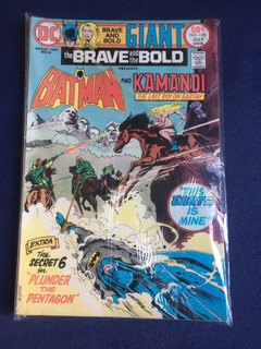 The Brave And The Bold Nº 120 - Batman E Kamandi