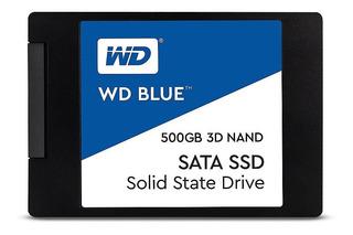 [ ] Ssd Solido Wester Digital 500gb ( Wds500g2b0a-00sm50 )