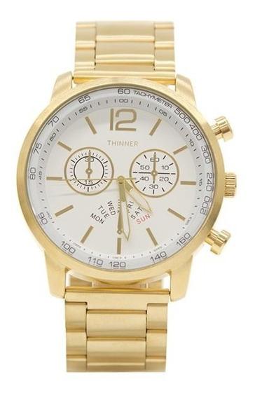 Reloj Thinner 1477 Dorado