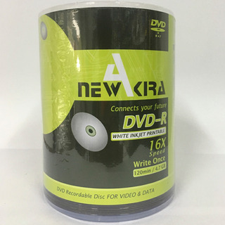 Dvd Printable Virgen Newakira 4.7gb 120min 16x Bulk X 100