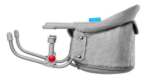 Cadeira De Alimentacao De Encaixe Click N Clip Cinza