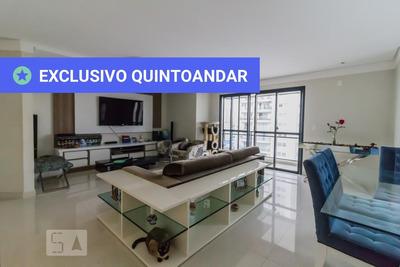 Apartamento No 9º Andar Mobiliado Com 3 Dormitórios E 4 Garagens - Id: 892862294 - 162294