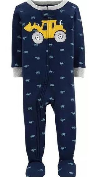 Pijama Macacão Carters Menino Bebê-original -algodão