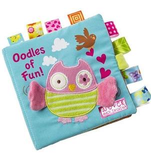 Sunen Animal Puzzle Paño Libro Bebé Suave Libros Bebés Recié