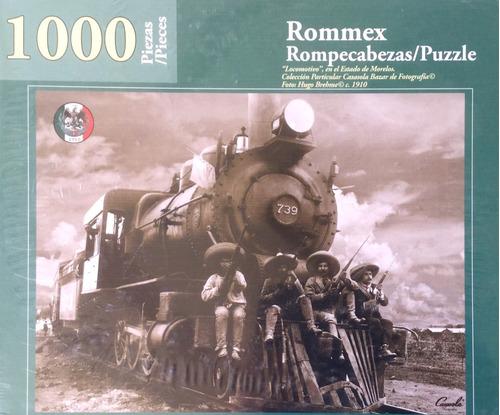 Rompecabezas De 1000 Piezas: Locomotivo En La Revolución