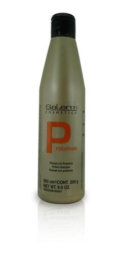 Imagen 1 de 3 de Shampoo Salerm Con Proteínas - g a $84