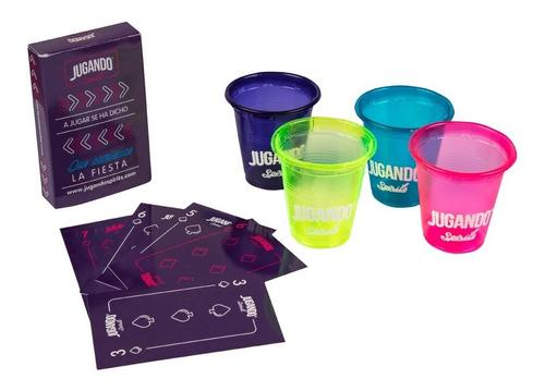 Poker Jugando Spirits - Juego De Shots Para Tequila