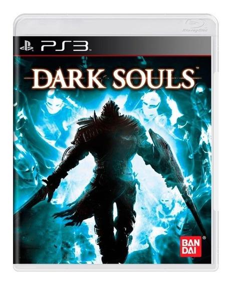 Jogo Novo Midia Fisica Dark Souls Original Bandai Para Ps3