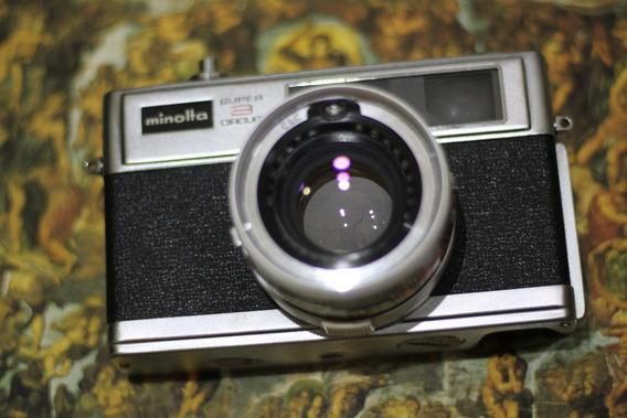 Câmera Analógica [de Filme] Minolta Hi Matic 11 3 Circuit