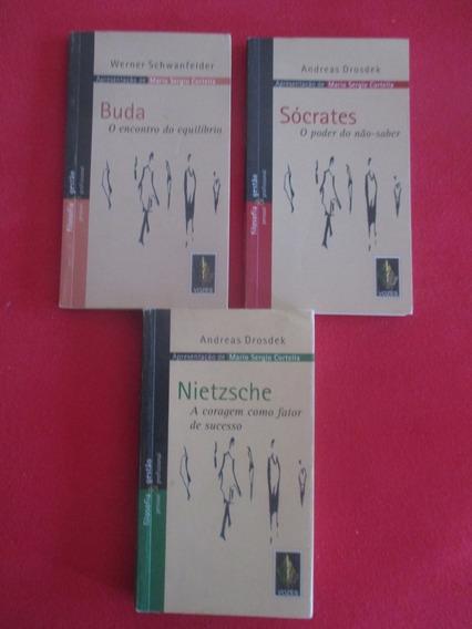 Lote De Livros Pensadores (por Mario Sergio Cortella)
