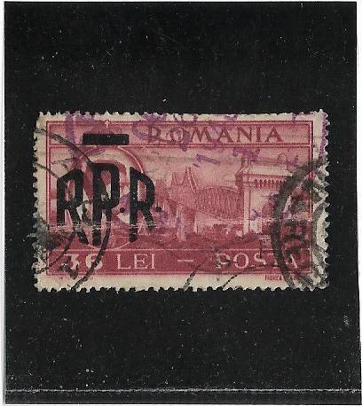 (**) Romenia (posta Romana) Stampworld 1113 - 1948 - Usado