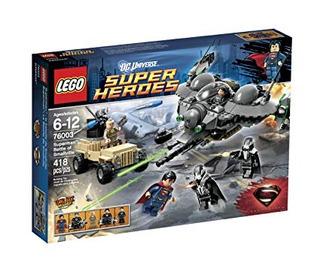 Lego 76003 Superhéroes Superman Batalla De Smallville