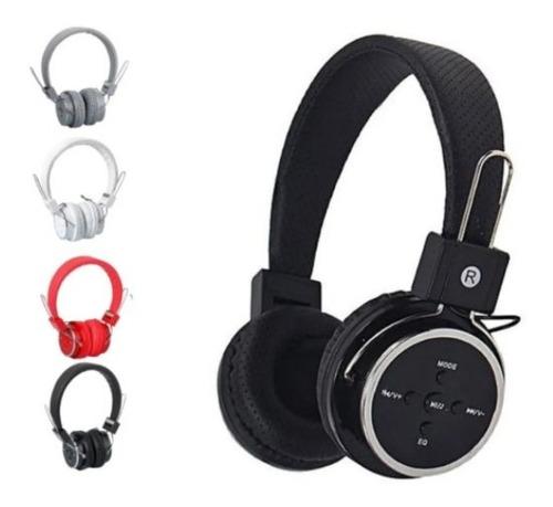 Imagem 1 de 2 de Fone Ouvido Bluetooth Mp3 Fm Atende Chamada Sem Fio Portatil