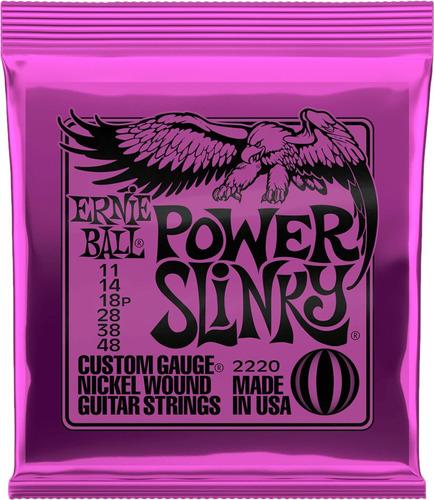 Encordado Ernie Ball 2220 Eb2220 Power Slinky 011-048