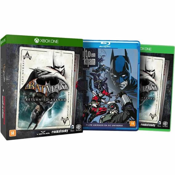 Batman Return To Arkhan (mídia Física) - Xbox One (novo)