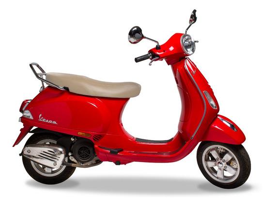 Nova Vespa Classic Vxl 150 Vermelha - Abs 0km 2019/2020