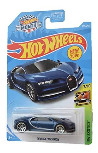 Exotics 7/10 '16 Bugatti Chiron 236/250 [2019 Mes], Azul