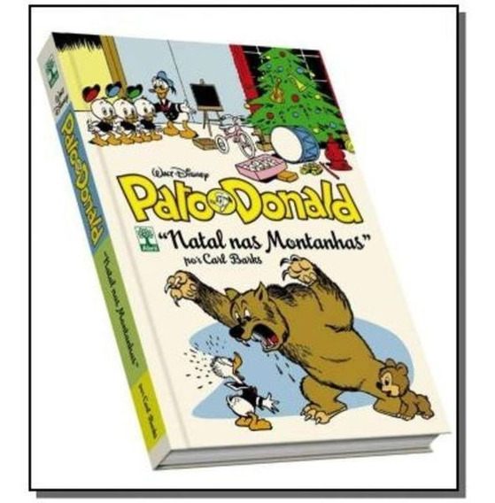 Livro Disney Pato Donald Natal Na Montanhas