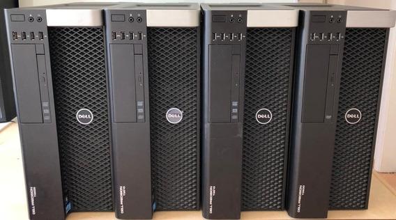 Workstation Dell Precision T3610 E5-2670 64gb Ram, Ssd 480gb
